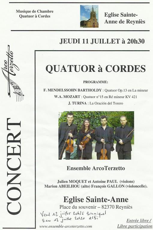Concert à Reynies