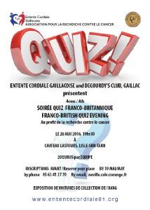 Quiz franco-britannique - Lisle sur Tarn (81)