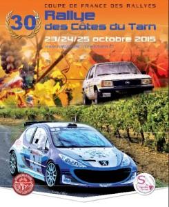 Rallye des Côtes du Tarn 2015