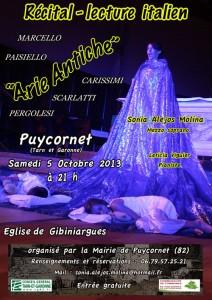 Arie Antiche à Puycornet (82)