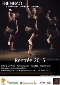 Ebenbao - Danse Africaine à Lavaur (81) -  Rentrée 2015