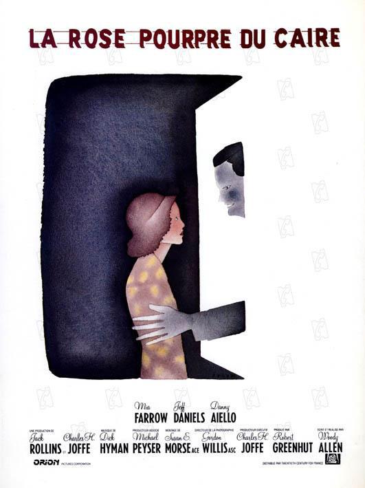 La Rose Pourpre du Caire - De Woody Allen