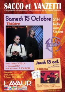 Sacco et Vanzetti ... à Lavaur (81)