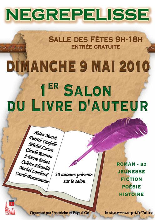 Salon du Livre Auteurs - Nègrepelisse (82)