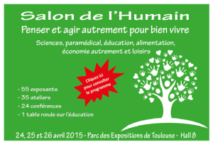 Salon de l'Humain - Toulouse (31)
