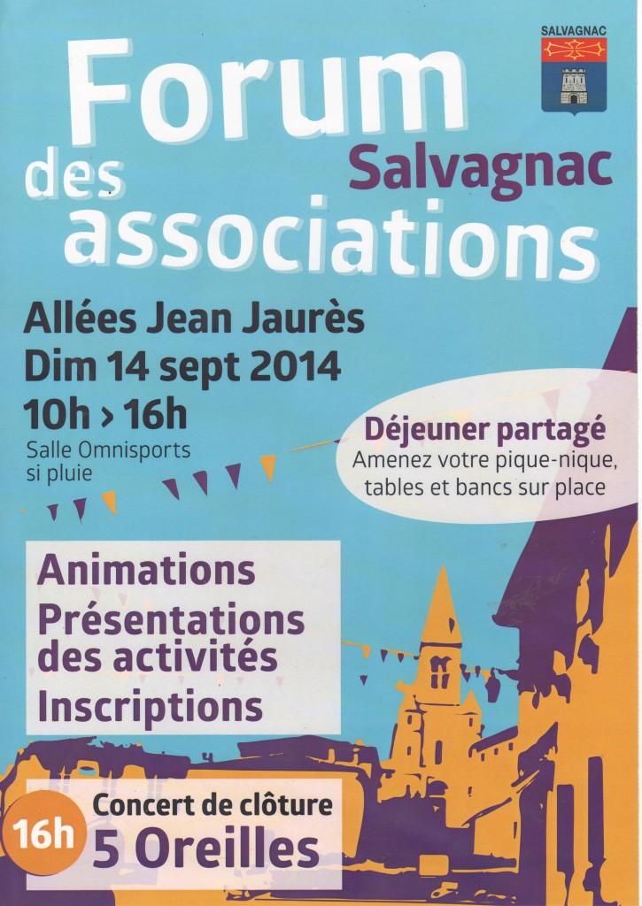 Forum des associations de Salvagnac 2014