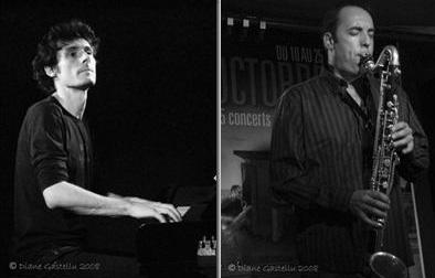 Marc SARRAZY : piano et Laurent ROCHELLE : clarinette basse, saxophone