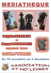 Exposition à la médiathèque de Saint Nauphary (82)