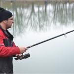 A la pêche, et seulement à la pêche, il est sérieux !