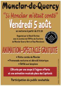"""""""Si Monclar m'était conté"""" ... à Monclar de Quercy (82)"""