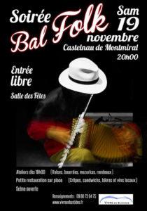 Soirée Bal Folk ... à Castelnau de Montmiral (81)