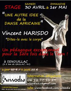 Stage avec Vincent HARISDO aux Cabannes (81)