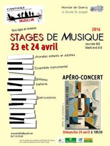 Stage Découverte Cantabile - Monclar de Quercy (82)