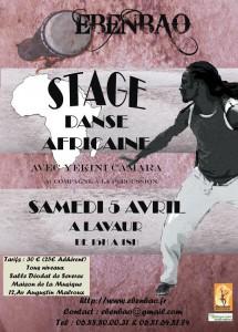 Stage de Danse Africaine à Lavaur (81)