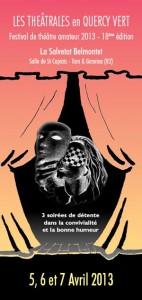 Théâtrales en Quercy Vert 2013