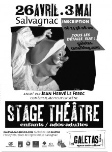 Stage de Théâtre Le Galetas