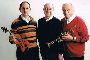 Trio Arc en Ciel  : Bernard Alquier, Michel Basque et Michel Régy