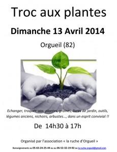 Troc aux plantes 2014 - Orgueil (82)