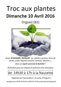 Troc Plantes à Orgueil (82)