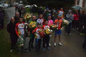UFOLEP 2015 - Les vainqueurs de chaque catégorie.