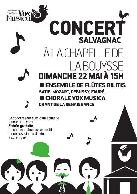 Concert Vox Musica ... à Salvagnac (81)